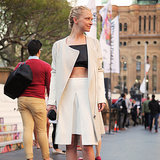 Street Style at Mercedes-Benz Fashion Festival Sydney