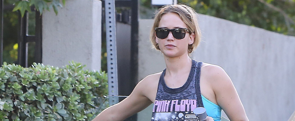Dating a Rock Star May Be Rubbing Off on Jennifer Lawrence