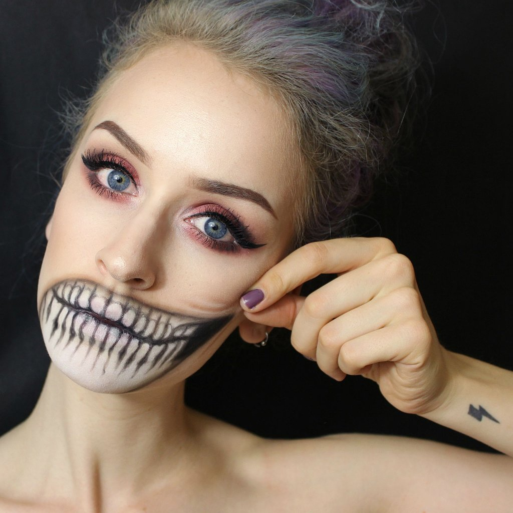 Halloween Makeup Ideas From Reddit POPSUGAR Beauty - Simple Halloween Makeup