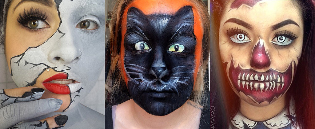 13 Terrifyingly Cool Face-Paint Looks to Steal the Show on Halloween