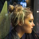 Tinker Bell Punk Halloween Makeup