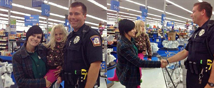 Police Officer Gives Mom a Car Seat, Not a Ticket