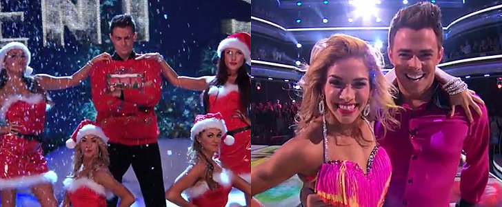 """Mean Girls' Aaron Samuels Did the """"Jingle Bell Rock"""" Routine on DWTS"""