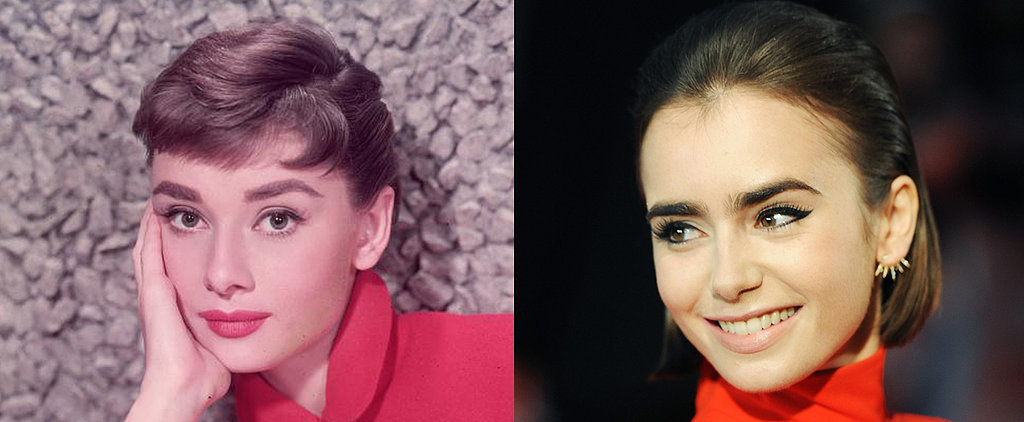 You Could Also Be Twinning With Audrey Hepburn and Lily Collins