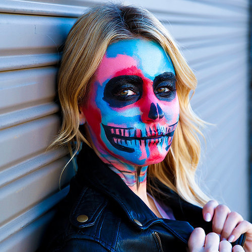 Love Cara Delevingne? You Need to Try This Halloween Makeup