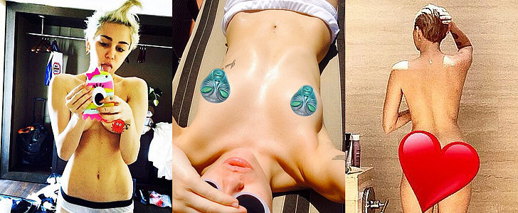 Yes, Miley Cyrus Is Getting Naked on Instagram Again