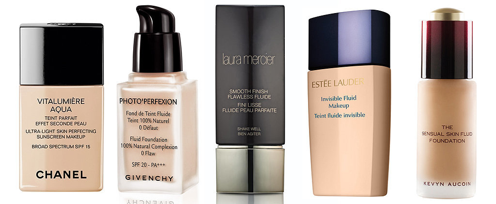 7 Fluid Foundations That'll Make You Ditch Tinted Moisturizer Forever