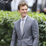 Jamie Dornan on Set Fifty Shades of Grey
