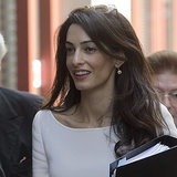 Amal Alamuddin Heads Back to Work After Becoming a Clooney