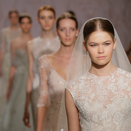 """Monique Lhuillier Dishes Wedding Dress Advice: Don't """"Experiment!"""""""