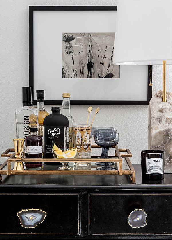 one of my favorite areas of the room is the bar area how to convert