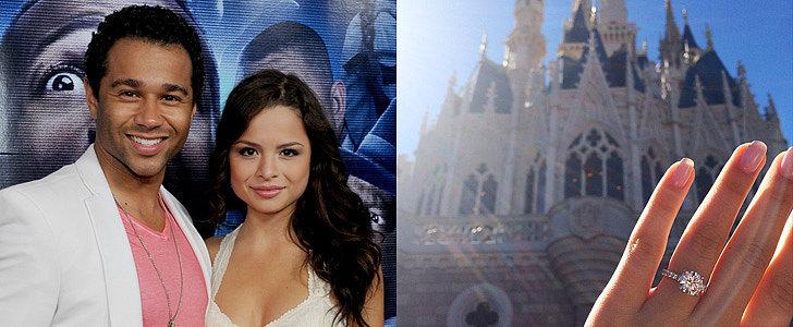 Disney Star Corbin Bleu Proposed to His Disney Star Girlfriend at Disney World