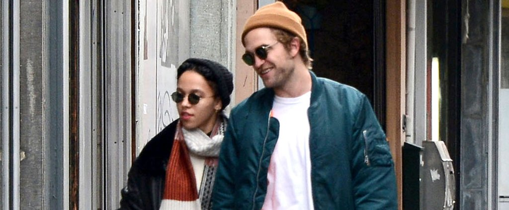 Robert Pattinson Looks Happier Than Ever With FKA Twigs