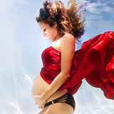 Beautiful Underwater Maternity Photos