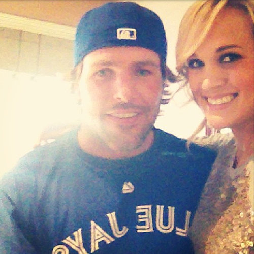 Carrie Underwood and Mike Fisher Cute Pictures