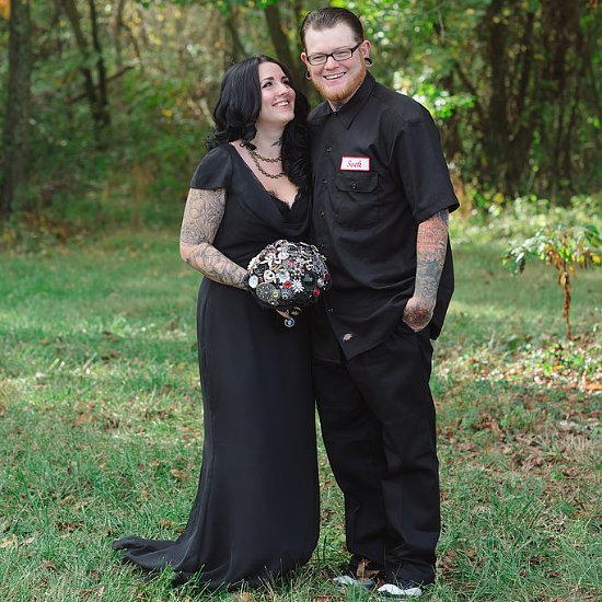 The Beauty of This Halloween Wedding Will Haunt You