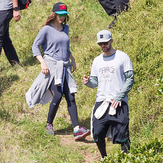 Justin and Jessica Take a Scenic Hike Before Their Anniversary