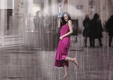 "This Genius ""Umbrella"" Uses Air To Propel Rain Away From You And Onto Your Neighbors"