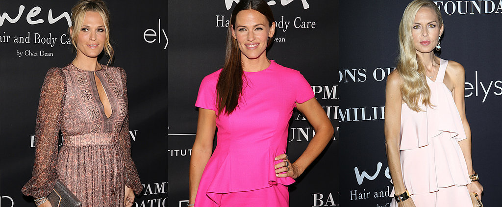 Which Celebrity Looked Prettiest in Pink to Support Breast Cancer?