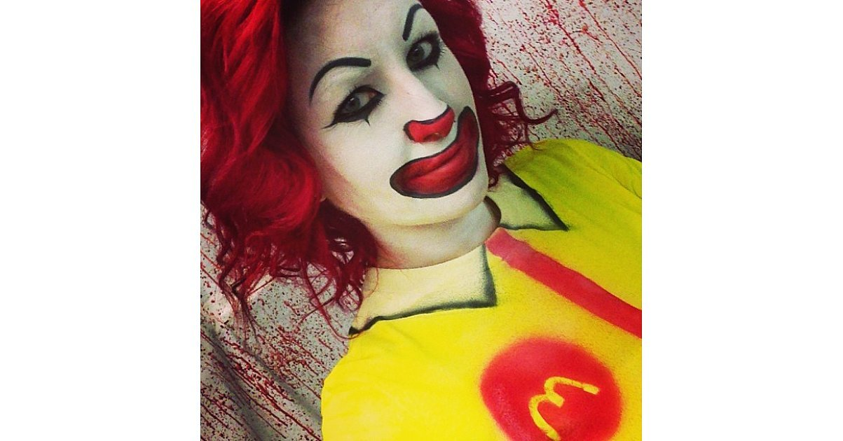 Ronald McDonald | 59 Halloween Costumes Inspired by Your Favorite ...