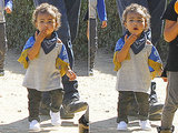 Kim Kardashian's Daughter North West Blows a Kiss: See the Cute Picture!