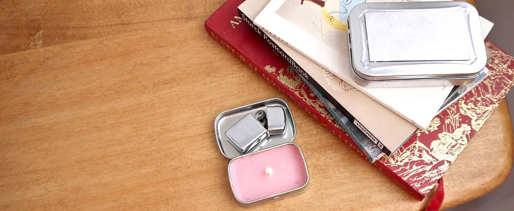 Turn a Mint Tin Into a Scented Travel Candle