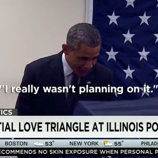 """Obama Reacts Hilariously When a Man Tells Him, """"Don't Touch My Girlfriend"""""""