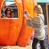 Stars Share Halloween Family Fun at the Pumpkin Patch