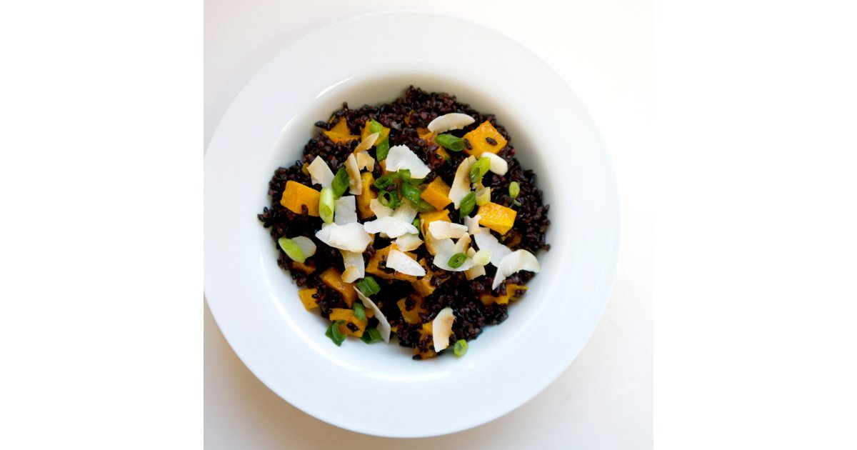 Black and Orange Rice | 30+ Sensational Halloween Recipes For Your ...