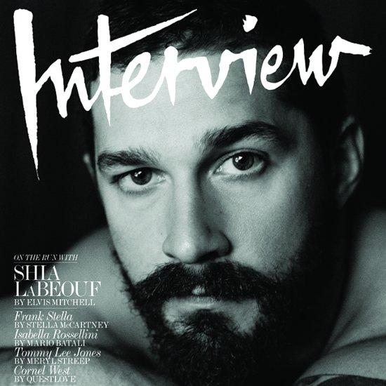 Shia LaBeouf in Interview Magazine November 2014