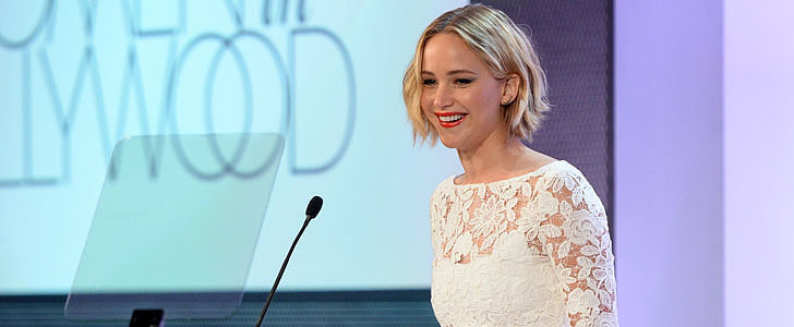 Jennifer Lawrence Pays Tribute to Oscar de la Renta on the Night He Dies