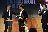 Matthew McConaughey Suffers an Acute Case of Dad Leg