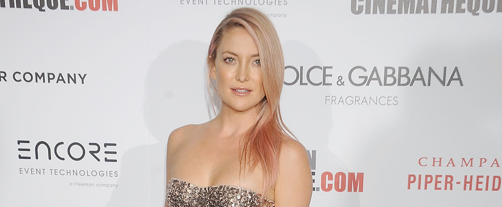 Kate Hudson Rocks Gorgeous Rose-Gold Hair on the Red Carpet