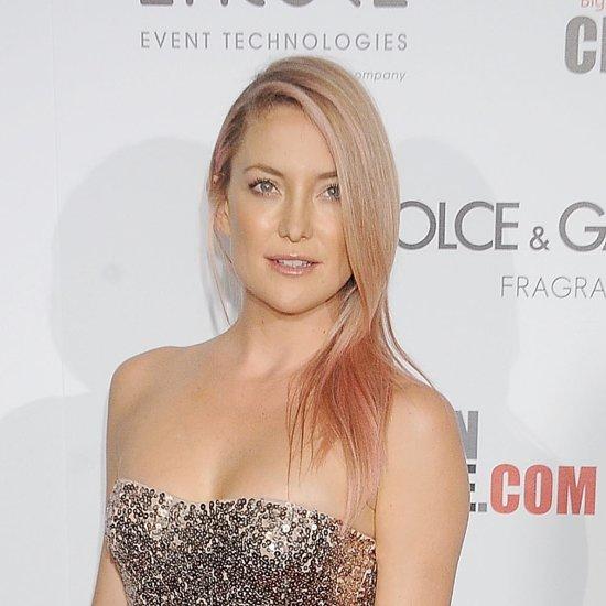 Kate Hudson Rocks Gorgeous Rose-Gold Hair on the Red Carpet