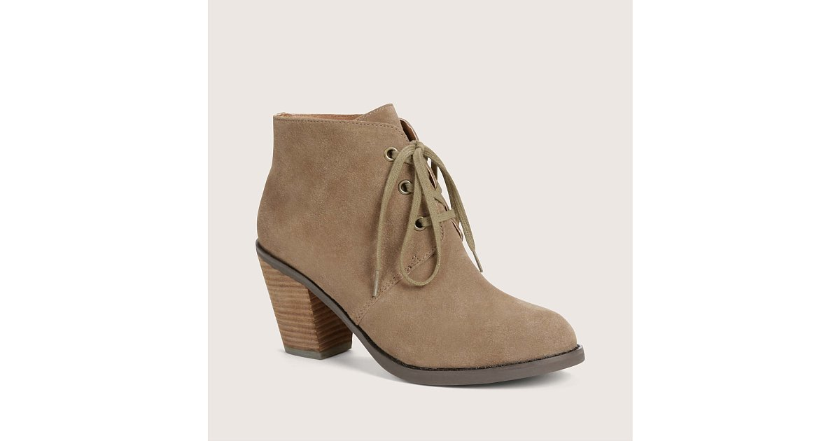 loft suede lace up booties fall s best booties all