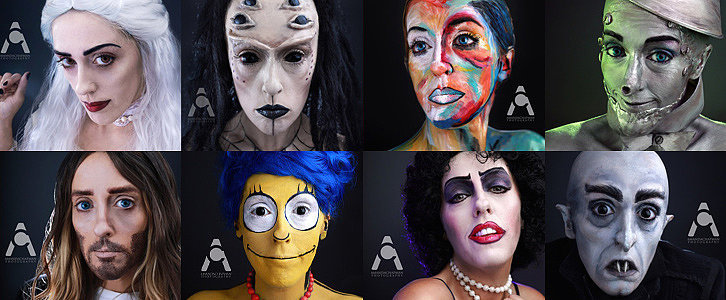 This Woman's 30-Day Halloween Makeup Challenge Will Blow Your Mind