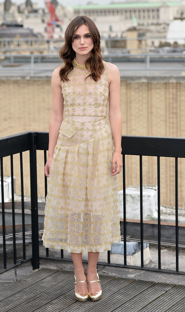 Keira Knightley at a Photocall for Be