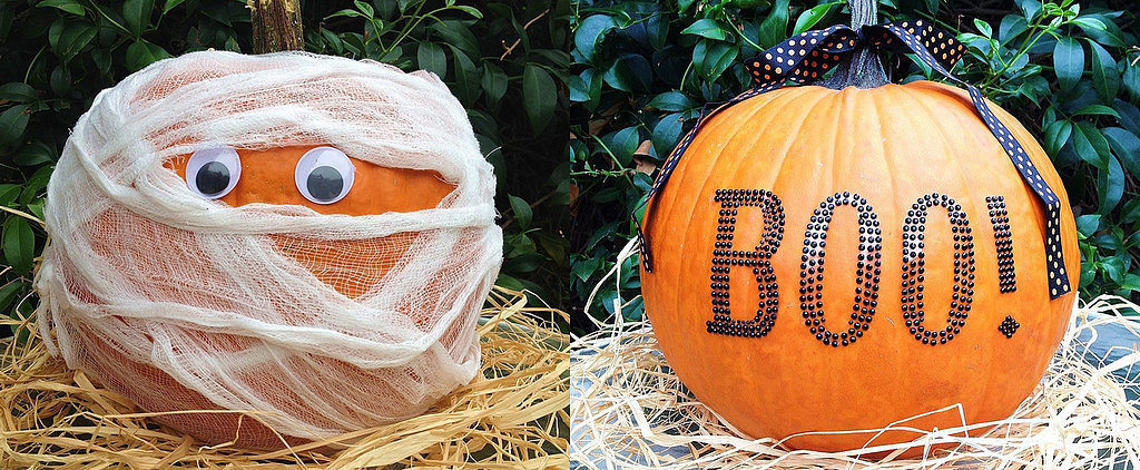 Hello, Halloween! Creative No-Carve Pumpkins That Are Perfect For Halloween