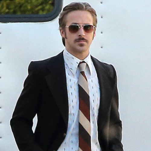 Ryan Gosling Out For the First Time as a Dad