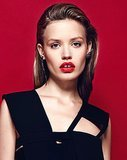 4 Bold Lip Beauty Looks From Georgia May Jagger's Elle France Spread