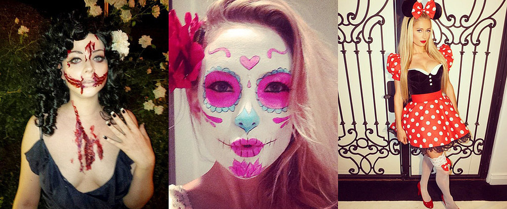 Stars Show Off Sexy and Spooky Halloween Costumes on Instagram