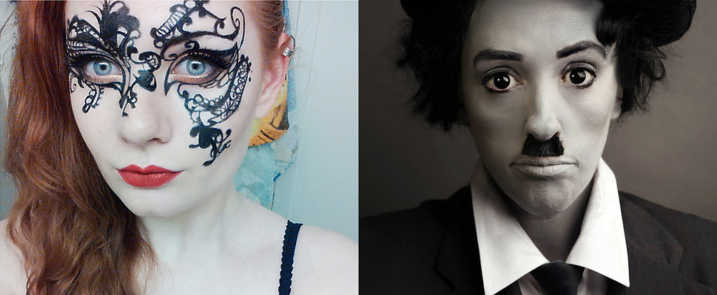 10 Easy, Cool-Looking Costumes You Can Make With Eyeliner