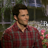 The Best of Me Interviews James Marsden & Michelle Monaghan