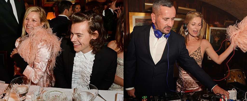 Kate Moss Still Has the Power to Make Guys Like Harry Styles All Giggly