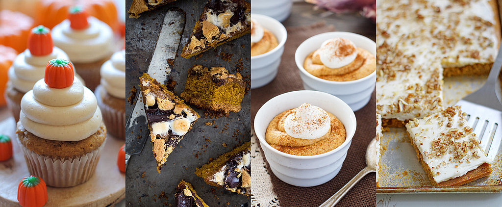 All Pumpkin Everything: 26 Dessert Recipes You'll Want to Devour