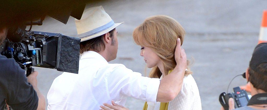 Newlyweds Angelina Jolie and Brad Pitt Film a Romantic Scene in Malta