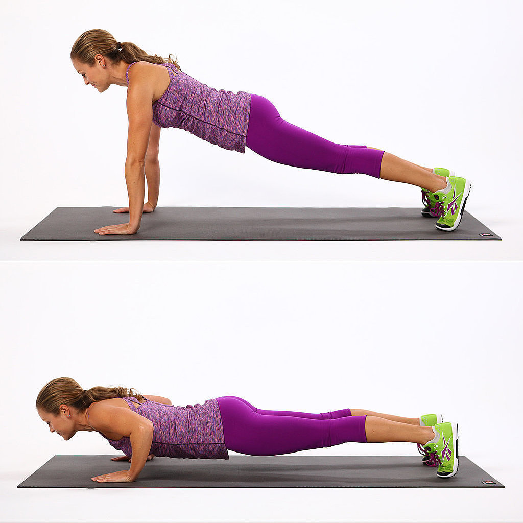 30-Day Push-Up Challenge | POPSUGAR Fitness