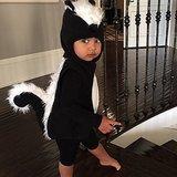 North West 2014 Halloween Skunk Costume