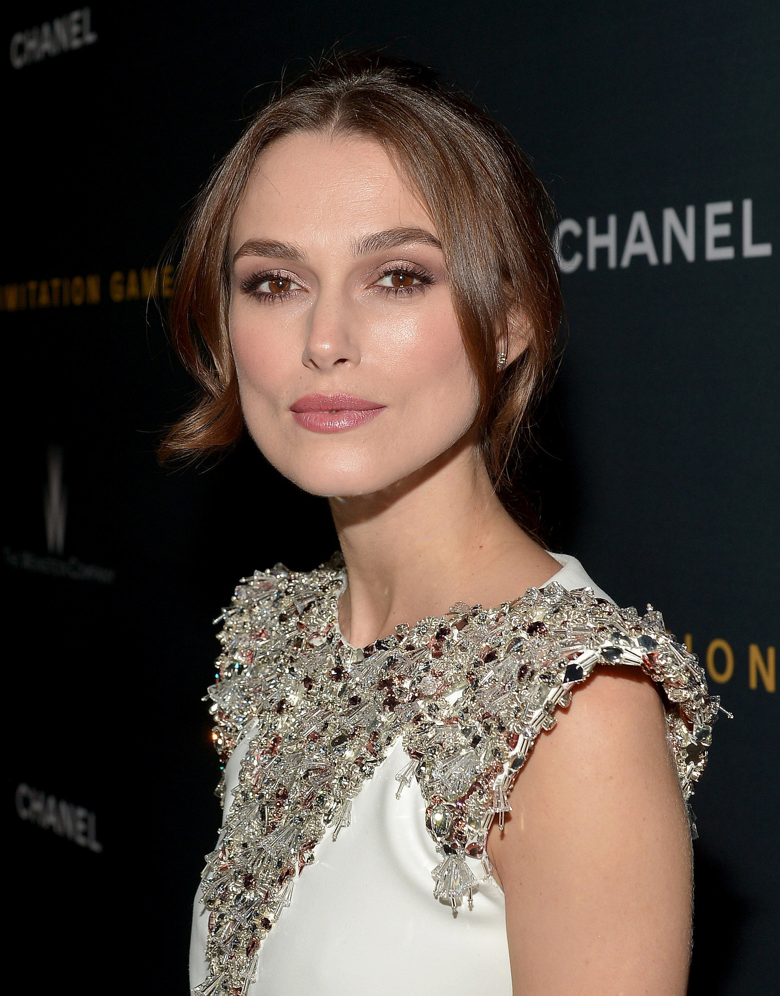 Keira Knightley | Lily Collinss Sultry Beauty Look Only