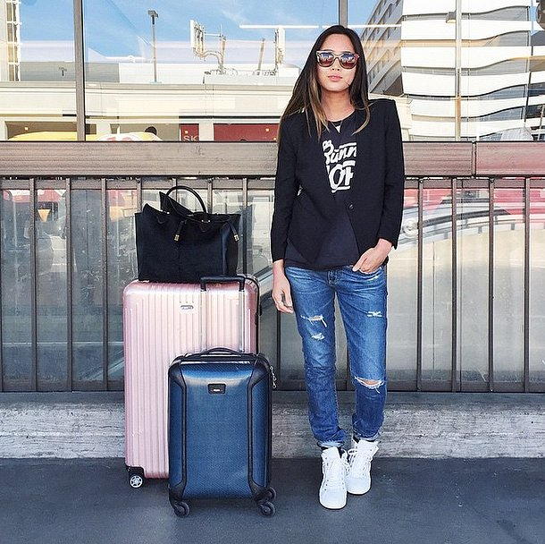 fashion real girl travel outfit ideas